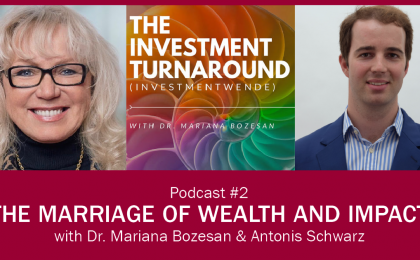 Investmentwende Podcast - Antonis Schwarz Poster