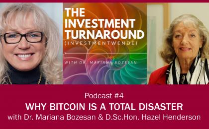 Investmentwende Podcast - Hazel Henderson Poster