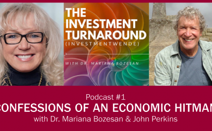 Investmentwende Podcast - John Perkins Poster