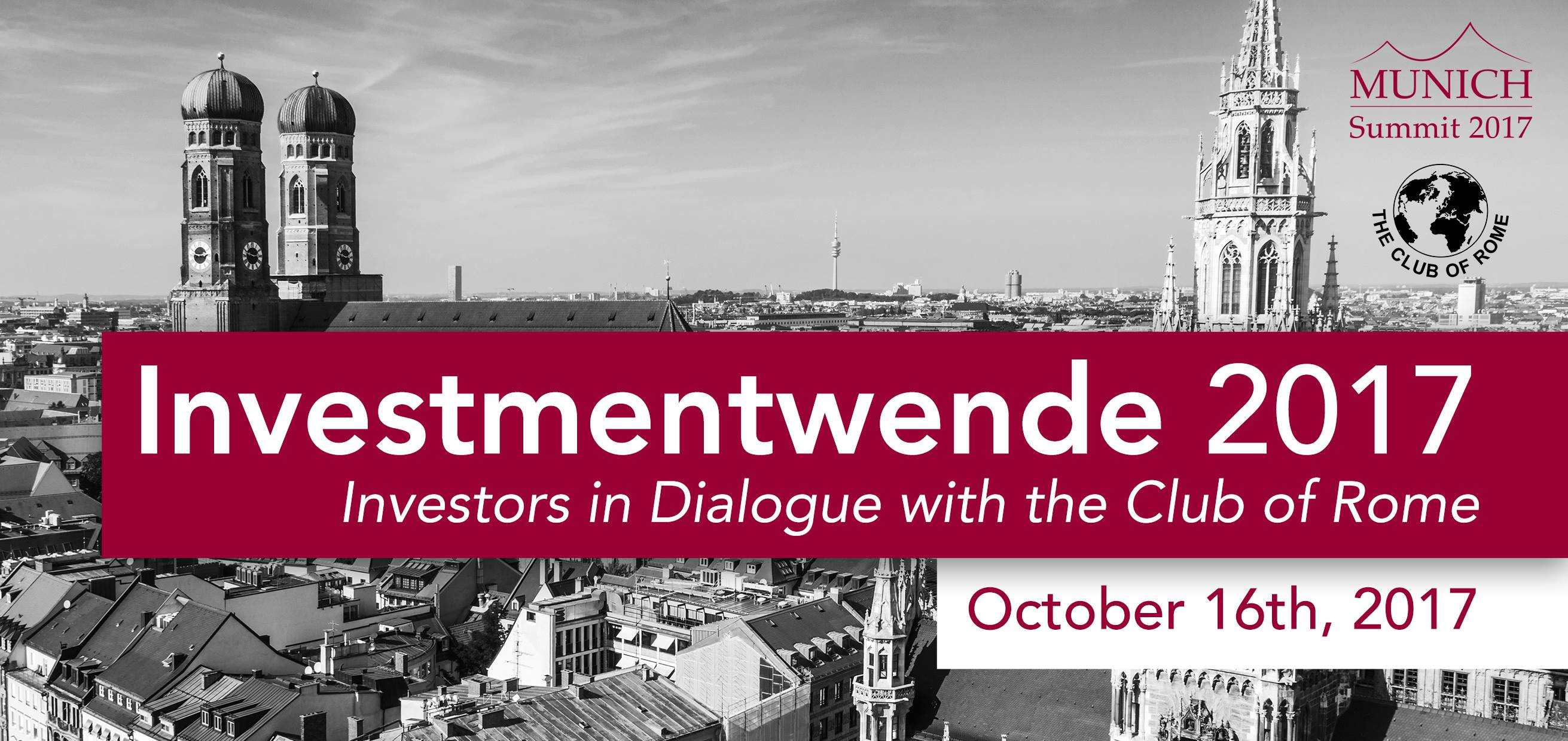"""Keynote at """"Investors in Dialogue with the Club of Rome"""" in Munich"""