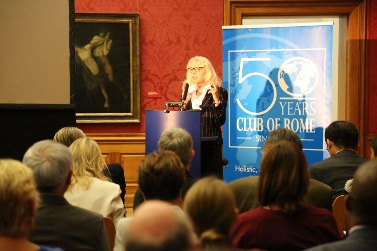 Dr. Bozesan's keynote speech at the 50th Anniversary of the Club of Rome
