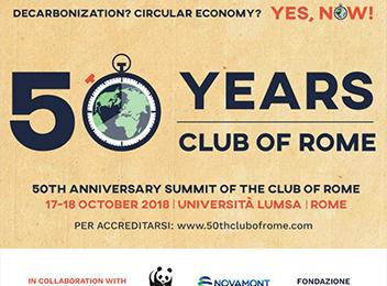 50 years club of Rome