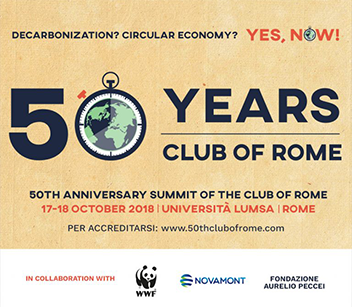 Dr. Mariana Bozesan invites you to the 50th Anniversary of the Club of Rome