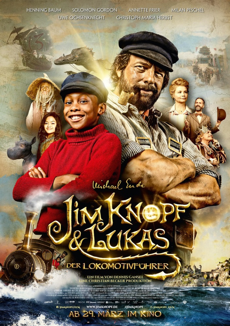 Jim Knopf movie awarded as the best children movie 2018