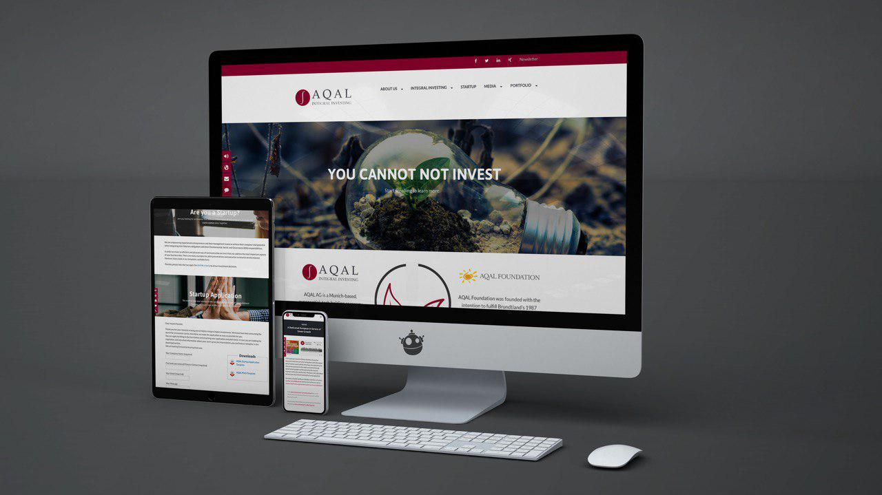 New AQAL Group Website