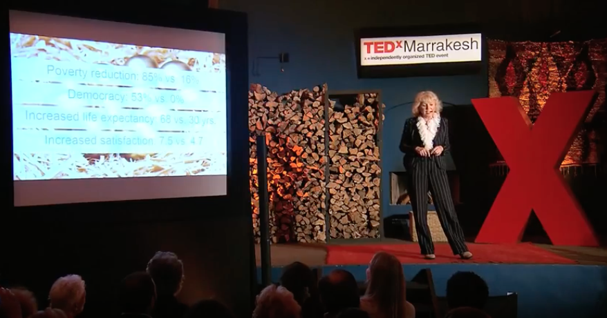 Confessions of an Investor – Dr. Mariana Bozesan at TEDx Marrakesh