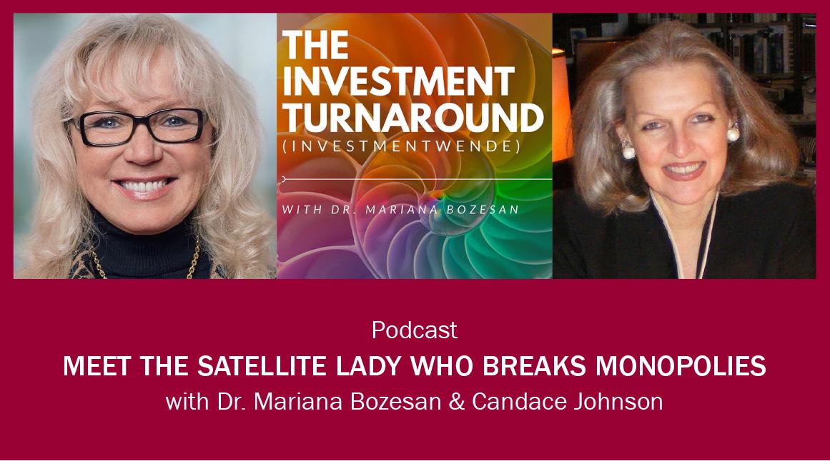 Meet the Satellite Lady Who Breaks Monopolies