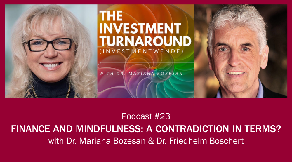 Finance and Mindfulness: a Contradiction in Terms?