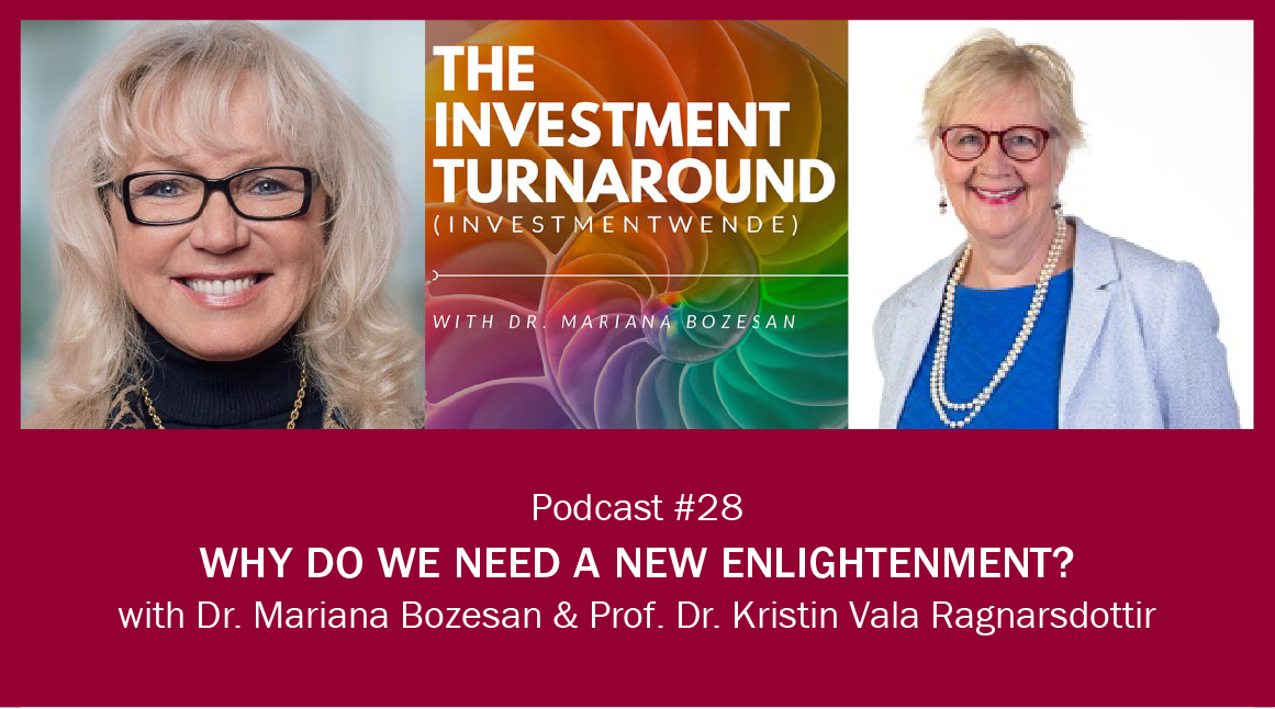 Why Do We Need a New Enlightenment?
