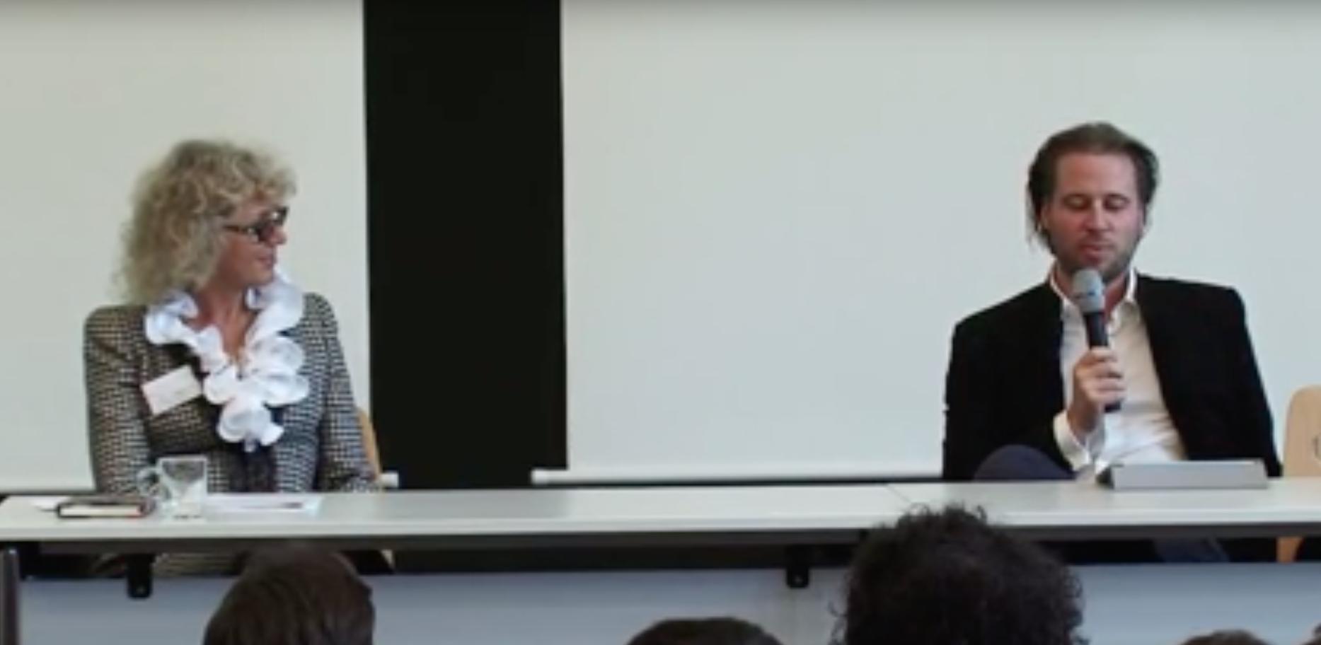 """Dr. Mariana Bozesan at """"Multiple Entrepreneurs – wie schafft man es mehrere Unternehmen gleichzeitig zu führen?"""""""